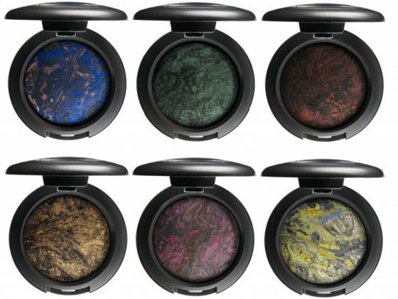 I dodici nuovi colori di Mac Mineralize Eyeshadow della Mac Semi-Precious Collection